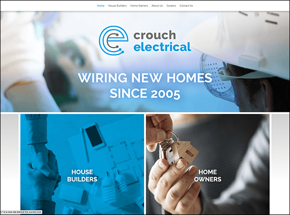 Crouch Electrical screenshot thumbnail