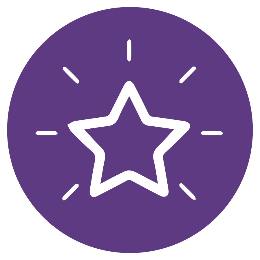 shining star icon