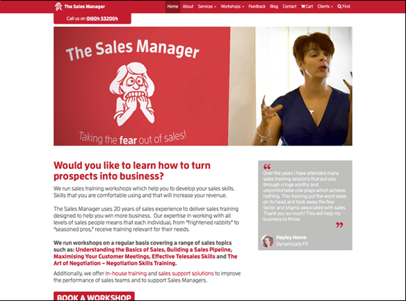 The Sales Manager screenshot thumbnail